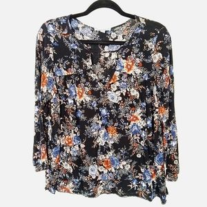 American Eagle Outfitters Woman's Floral Blouse M